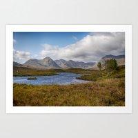 Lochan Na H-Achlaise Art Print