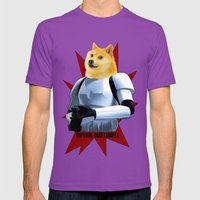 Imperial Dogetrooper Mens Fitted Tee Ultraviolet SMALL