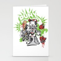 Lil' Sluggerbot! Stationery Cards