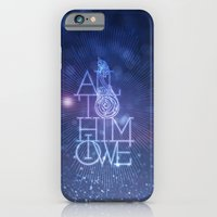 iPhone & iPod Case featuring All to Him I owe by 1Name Design