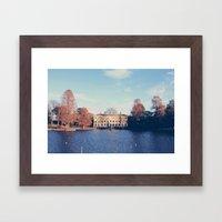 Kew Gardens Framed Art Print