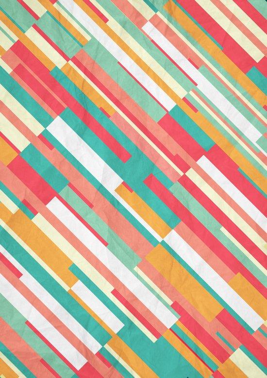 Drop Lines Art Print