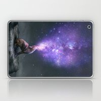 All Things Share the Same Breath (Coyote Galaxy) Laptop & iPad Skin