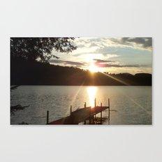 HARVEY'S LAKE SUNSET2 Canvas Print