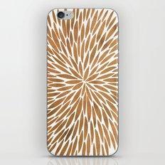Rose Gold Burst iPhone & iPod Skin