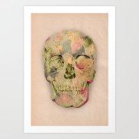 Skull1 Art Print