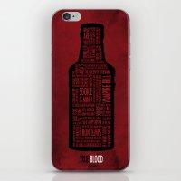 True Blood iPhone & iPod Skin