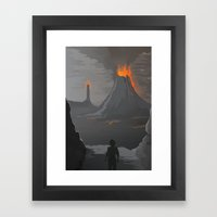 Lord Of The Rings Framed Art Print