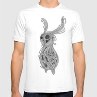 Spacebun Mens Fitted Tee White SMALL