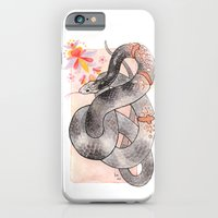 Glowing Corn Snake iPhone 6 Slim Case