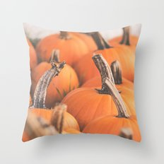 pumpkin season. Throw Pillow