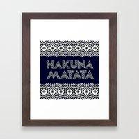 SAWASAWA 2 Framed Art Print
