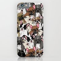 Social Frenchies iPhone 6 Slim Case