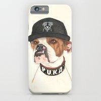 Boxer dog - F.I.P. - @chillberg (#pukaismyhomie)  iPhone 6 Slim Case