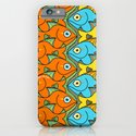 Something is Nicely Fishy Here! iPhone & iPod Case