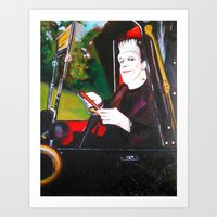 The Munsters Herman Muns… Art Print