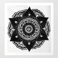 Flower Mandala Number 2 Art Print