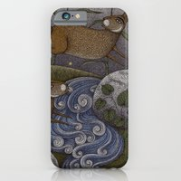 iPhone & iPod Case featuring Swamp Rabbit's Reedy River Race by Judith Clay