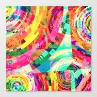 Playa Del Carmen Sun, No… Canvas Print