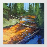 Gold Rush! Canvas Print
