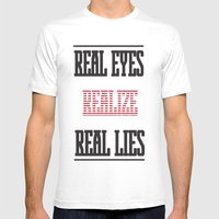 Realize Mens Fitted Tee White SMALL