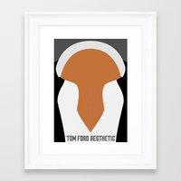 Tom Ford Aesthetic Framed Art Print