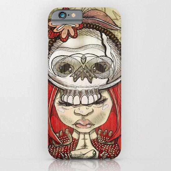 i wear my lucky skull  iPhone & iPod Case