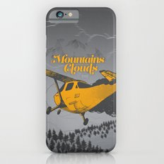 Mountains Hide in Clouds II - Gray iPhone 6 Slim Case