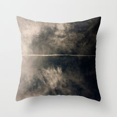 high energy proton detection Throw Pillow