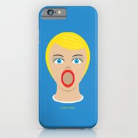 iPhone & iPod Case featuring Blow Up Pin Up by John Tibbott