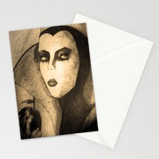 evil queen -snow white Stationery Cards