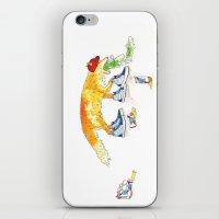 Drunk Fox iPhone & iPod Skin
