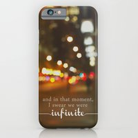 iPhone Cases featuring perks of being a wallflower - we were infinite by lissalaine