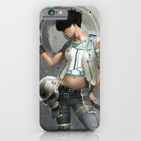 iPhone & iPod Case featuring Deviline by Yvan Quinet