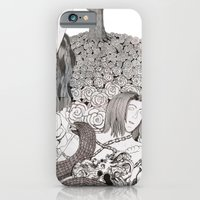 iPhone & iPod Case featuring Camelia field by Bake