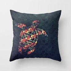 The Pattern Tortoise Throw Pillow