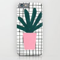 iPhone & iPod Case featuring Plant Pot by Maya Bee Illustrations