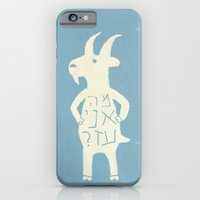 iPhone & iPod Case featuring Goats by Hadar Geva