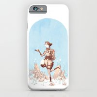 iPhone & iPod Case featuring Walking Home by Tim Probert