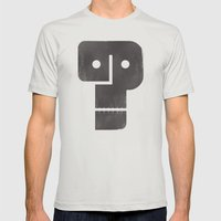 Who Dunnit? Mens Fitted Tee Silver SMALL