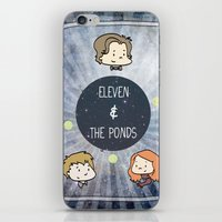 Doctor Who: Eleven And T… iPhone & iPod Skin