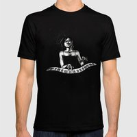 Hiromi Mens Fitted Tee Black SMALL