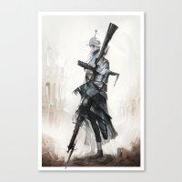 Apparition of War Canvas Print