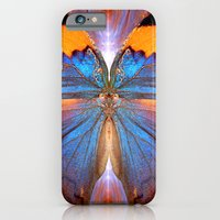 iPhone Cases featuring Lapis Lepidoptera by FemmeFeralle