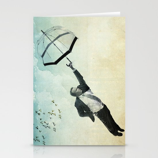 flying high Stationery Card