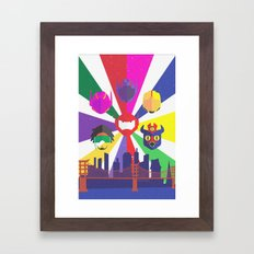 Big Hero 6 - Heroes of San Fransokyo Framed Art Print