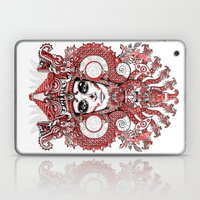 Red Serpent Queen Laptop & iPad Skin