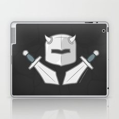 Exile From Ullathorpe - Helmet and Swords Dark Laptop & iPad Skin