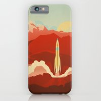 iPhone Cases featuring The Uncharted by The Art of Danny Haas