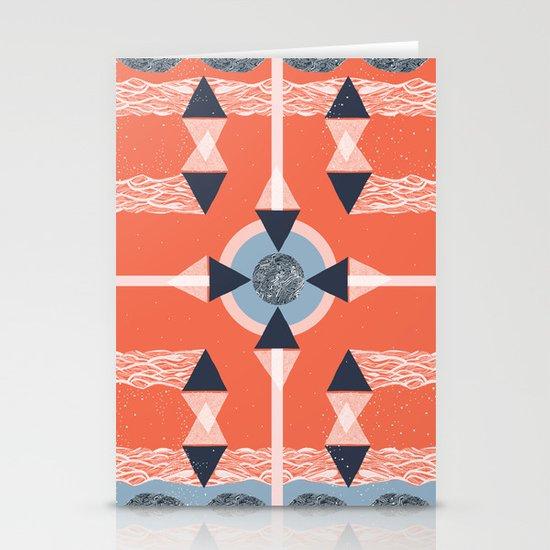 Above Stationery Card